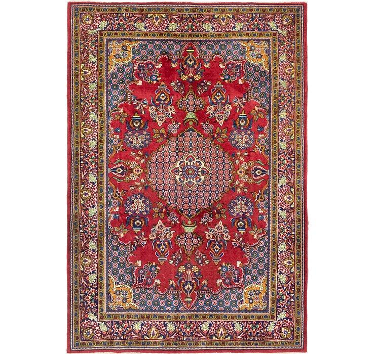 6' 10 x 9' 9 Golpayegan Persian Rug