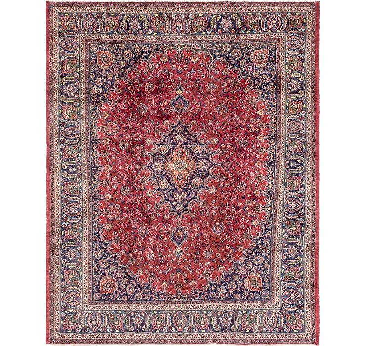9' 8 x 12' 7 Mashad Persian Rug