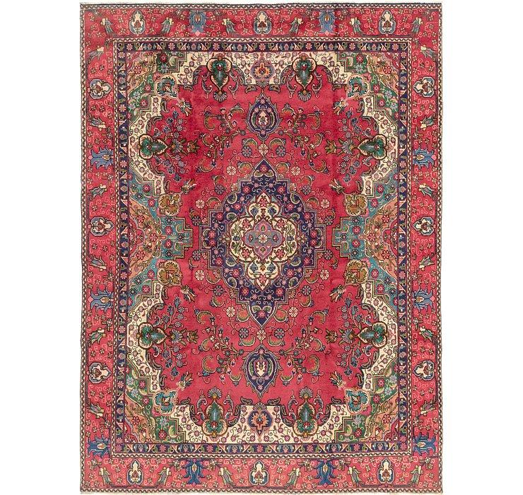 9' x 12' 4 Tabriz Persian Rug