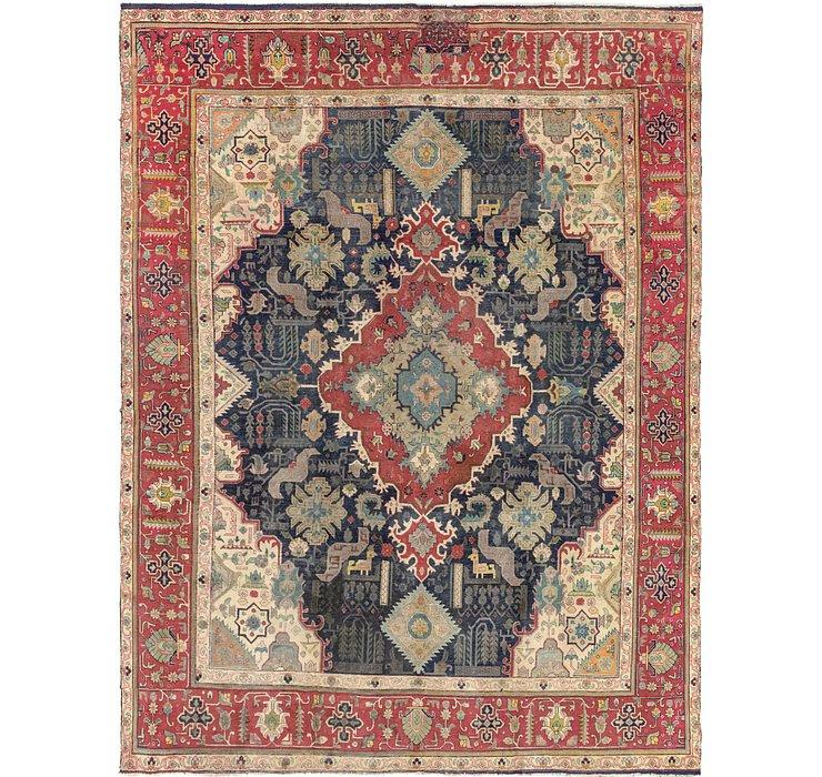 295cm x 395cm Tabriz Persian Rug