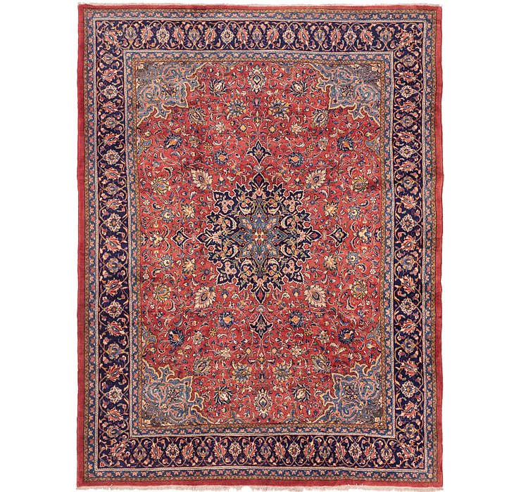 10' 10 x 14' Sarough Persian Rug