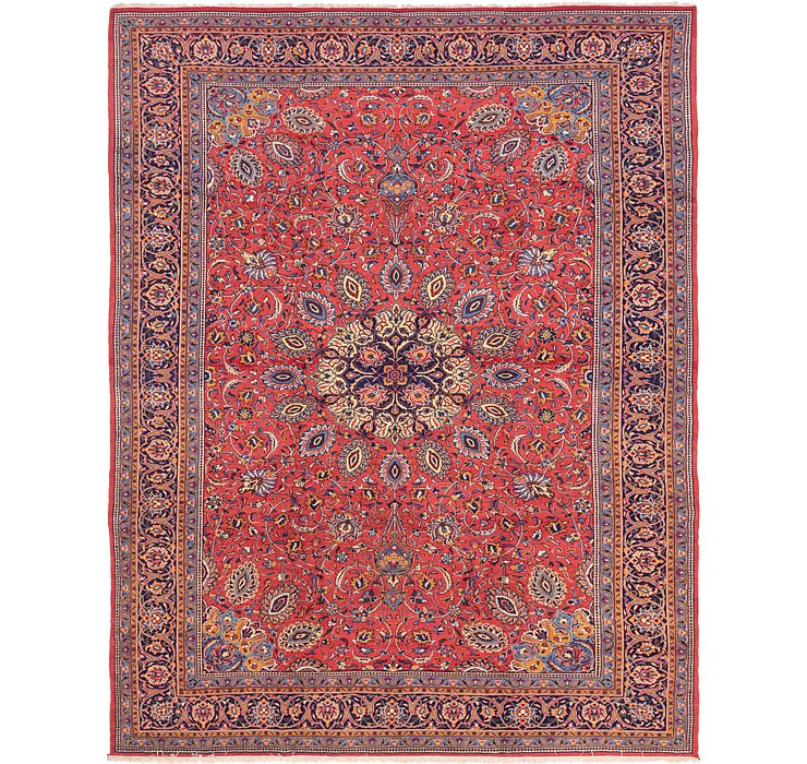 9' 9 x 12' 7 Sarough Persian Rug
