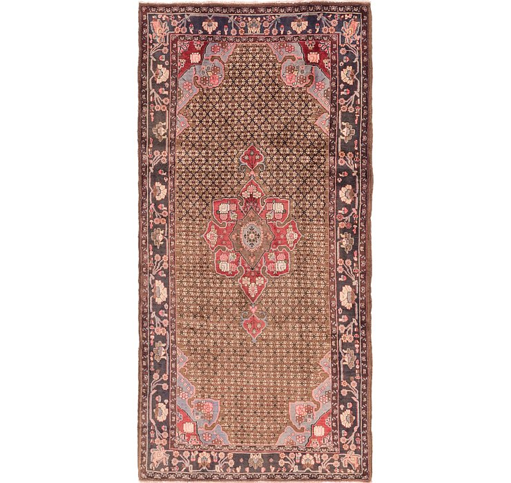5' x 10' 3 Koliaei Persian Runner ...