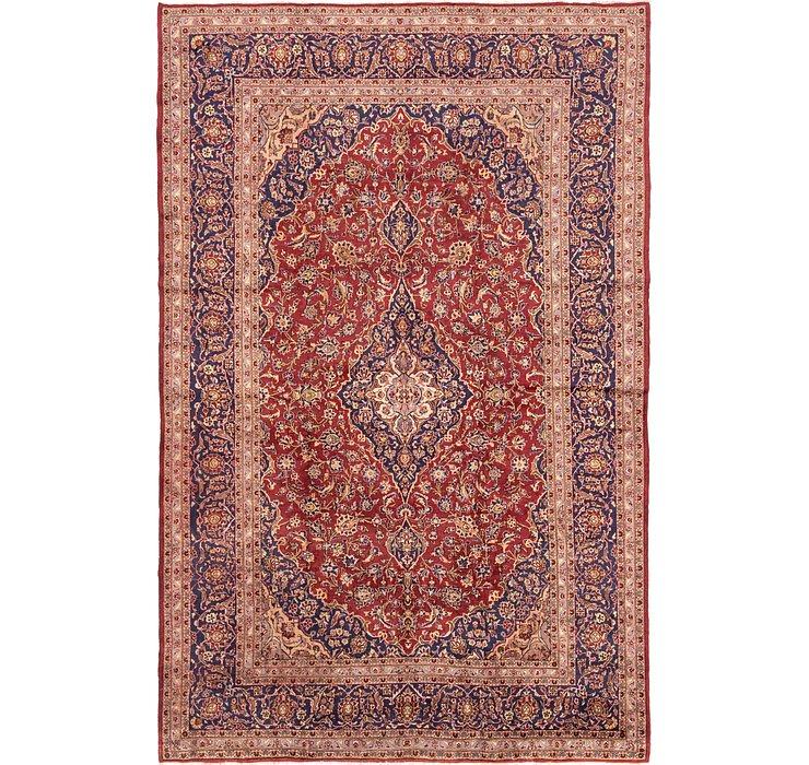 9' 7 x 14' 8 Kashan Persian Rug