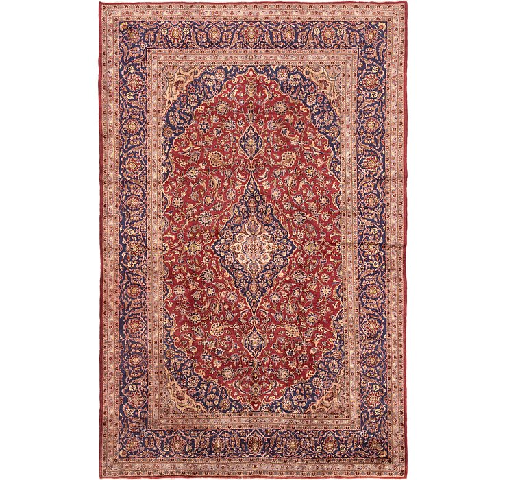 292cm x 447cm Kashan Persian Rug