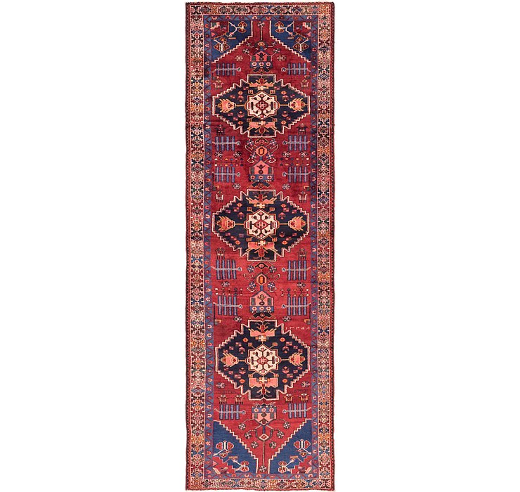 3' 7 x 12' 7 Shahsavand Persian Runn...