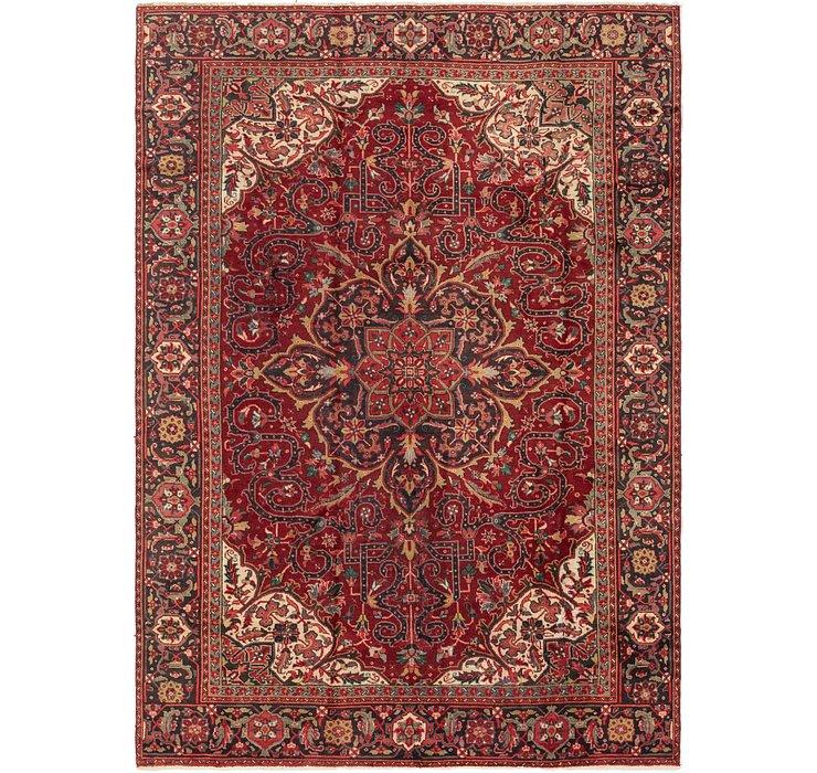 213cm x 330cm Heriz Persian Rug
