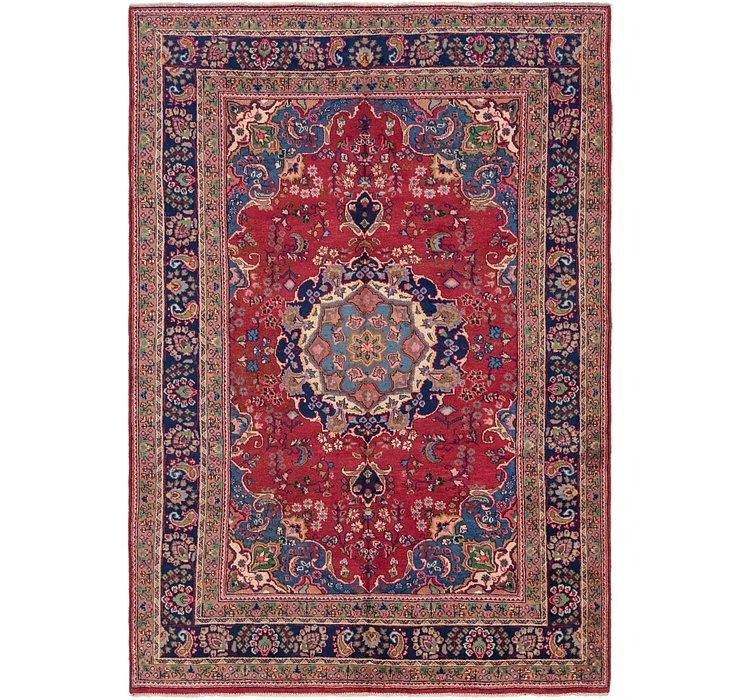 198cm x 290cm Mashad Persian Rug