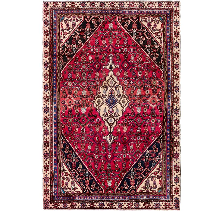 5' 9 x 9' 2 Hamedan Persian Rug