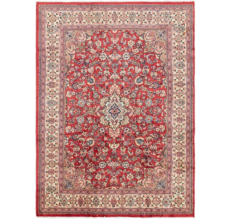 9' 5 x 13' Meshkabad Persian Rug