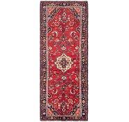 Link to 117cm x 320cm Hamedan Persian Runner Rug