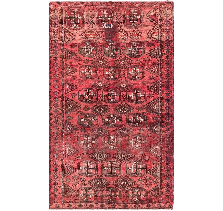 3' x 5' Torkaman Persian Rug