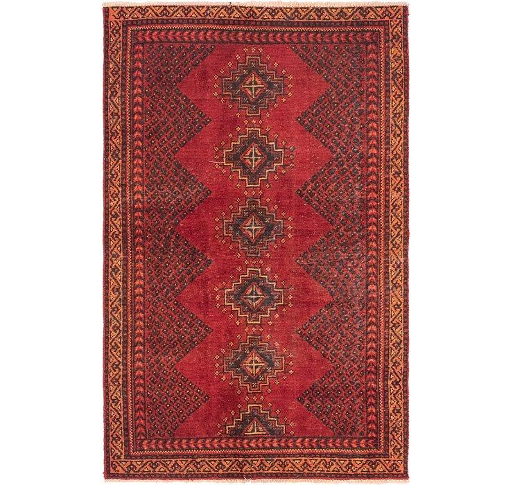 3' 8 x 6' 2 Hamedan Persian Rug