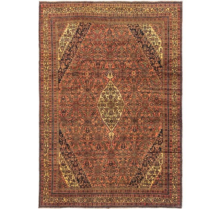 9' 5 x 13' 4 Hamedan Persian Rug