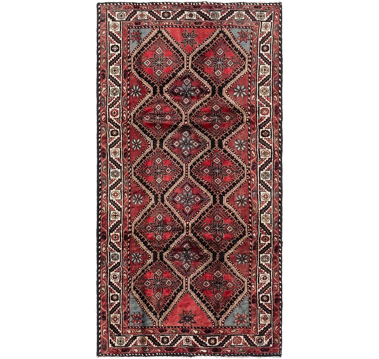 5' 2 x 10' 2 Chenar Persian Runner Rug