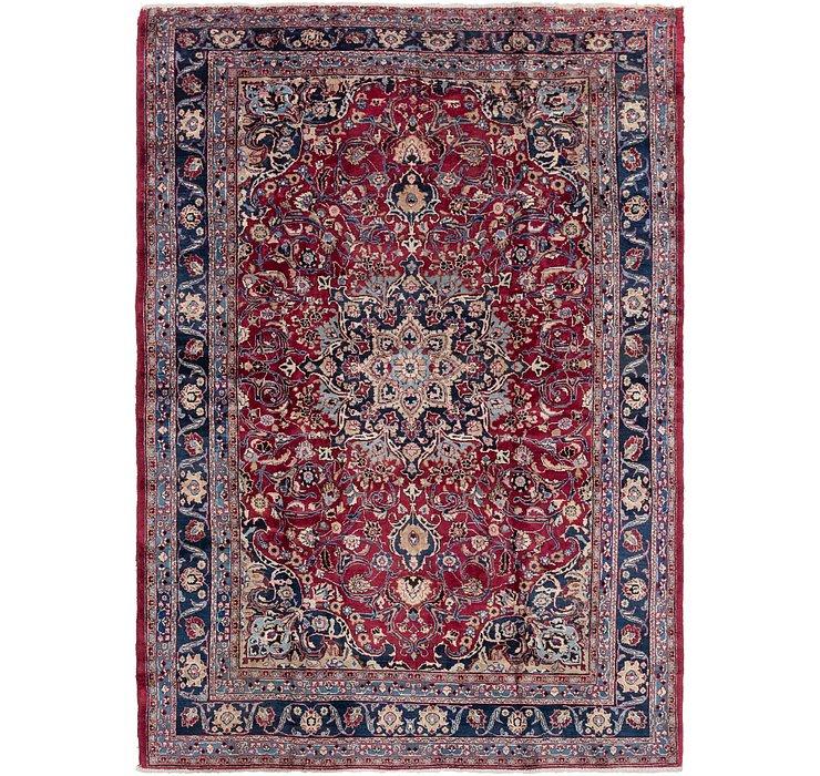 8' x 11' 6 Mashad Persian Rug
