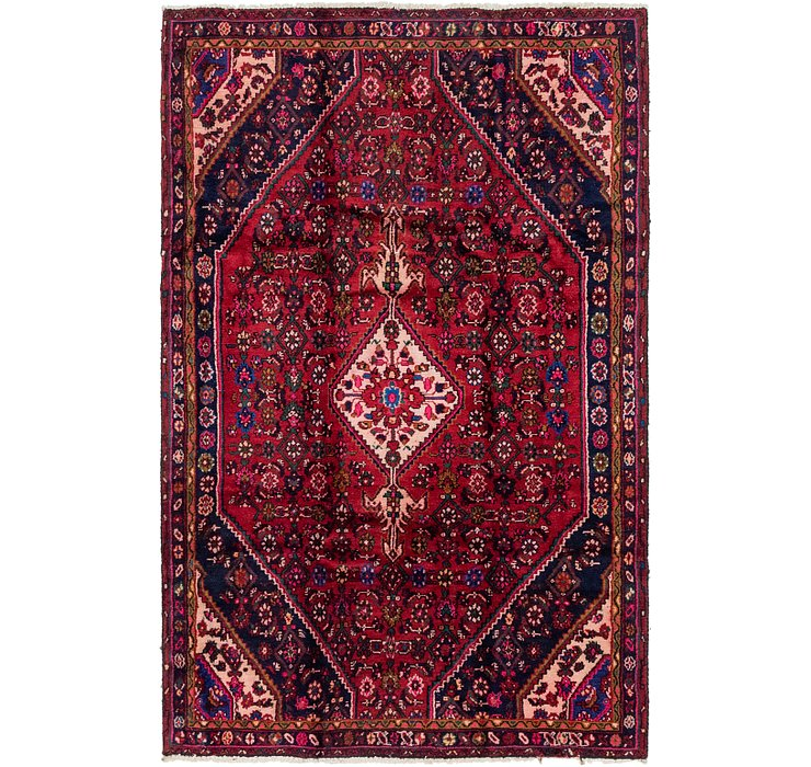 5' 2 x 8' 2 Hossainabad Persian Rug