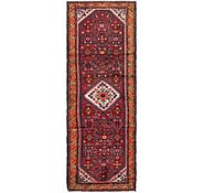 Link to 105cm x 312cm Hossainabad Persian Runner Rug