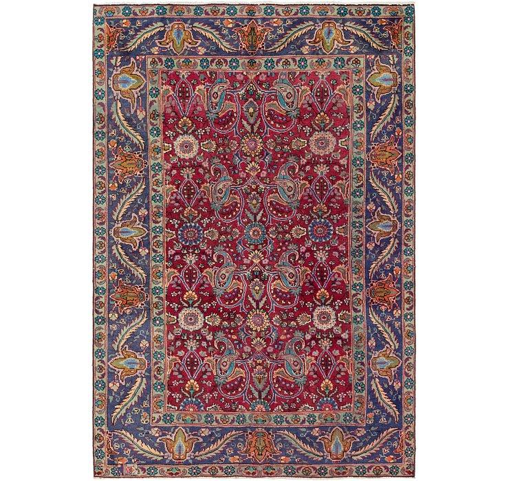 6' 2 x 9' 4 Tabriz Persian Rug