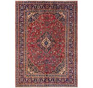 Link to 6' 6 x 9' Mashad Persian Rug