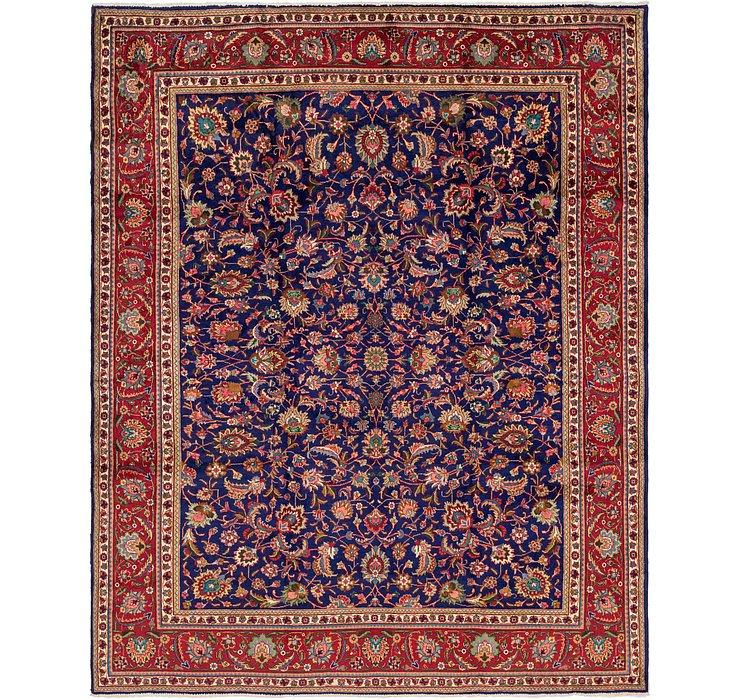 10' 2 x 12' 9 Tabriz Persian Rug