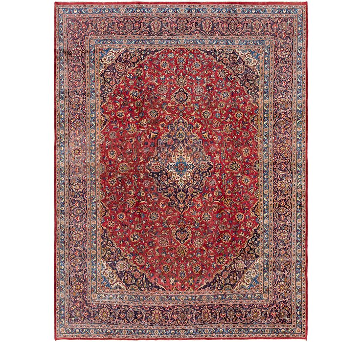9' 3 x 12' 7 Mashad Persian Rug