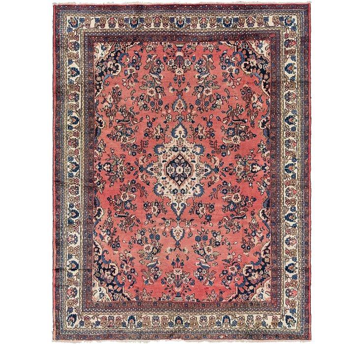 265cm x 355cm Hamedan Persian Rug