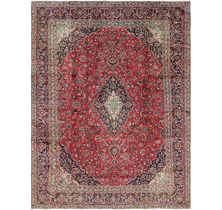 HandKnotted 9' x 11' 10 Kashan Persian Rug