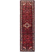 Link to 3' 6 x 13' 7 Hossainabad Persian Runner Rug