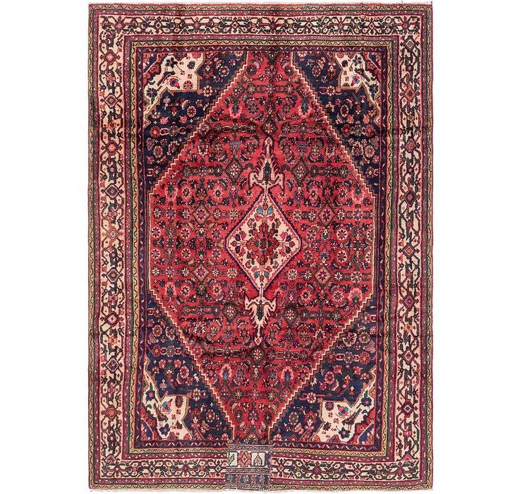 6' 6 x 9' 4 Hamedan Persian Rug