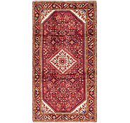 Link to 165cm x 328cm Hossainabad Persian Runner Rug