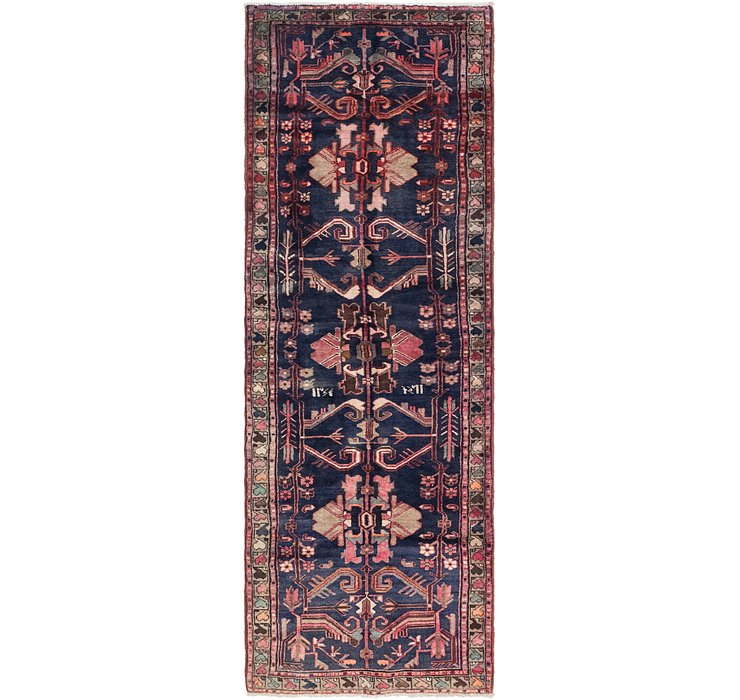 3' 2 x 9' 10 Shahsavand Persian Runn...