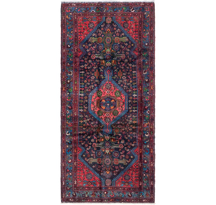 3' 10 x 8' 2 Darjazin Persian Runner...