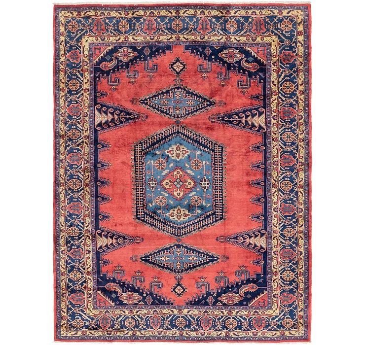 9' 6 x 12' 8 Viss Persian Rug