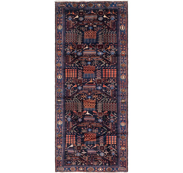 5' 4 x 13' 4 Roodbar Persian Runner ...