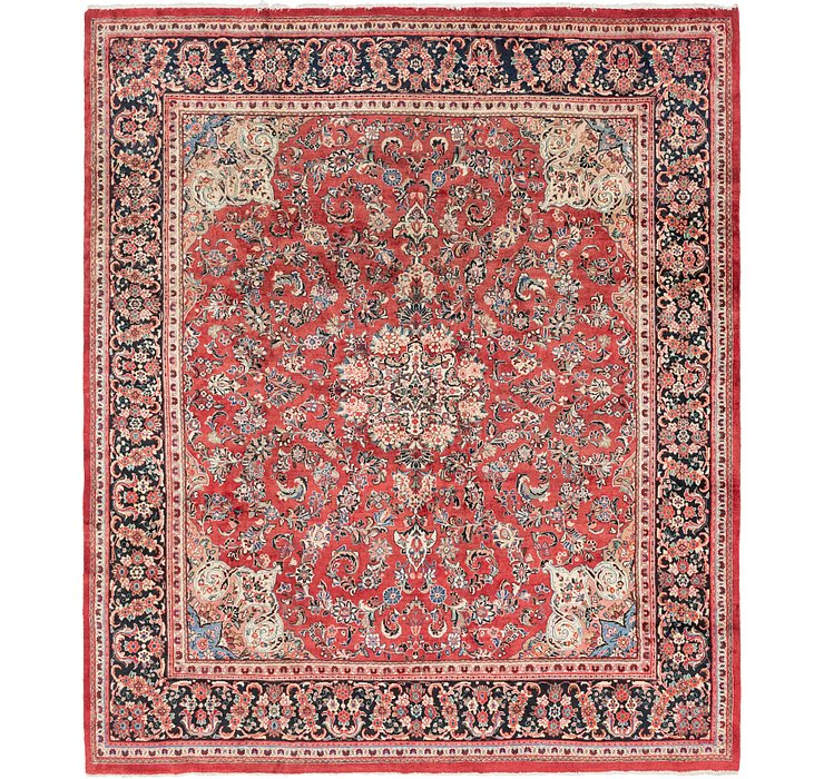 10' 5 x 12' Meshkabad Persian Rug