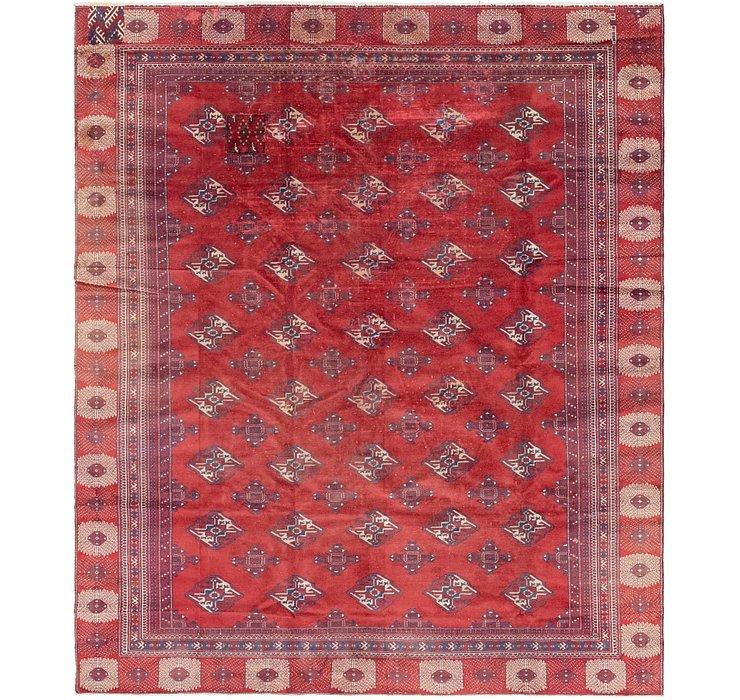 8' 6 x 10' 5 Torkaman Persian Rug