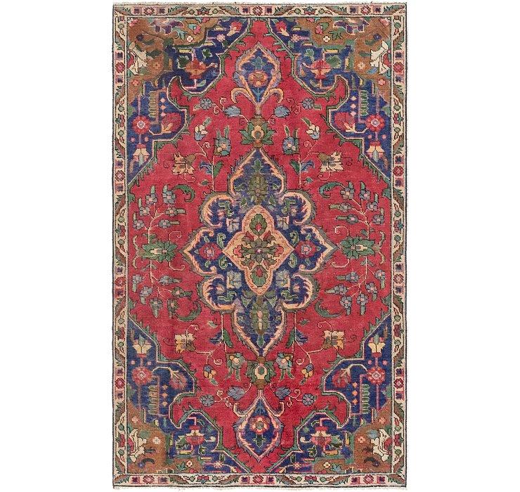 4' 6 x 7' 6 Tabriz Persian Rug