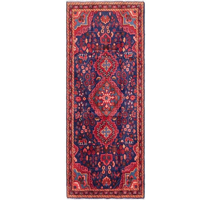 3' 9 x 9' 9 Mahal Persian Runner Rug