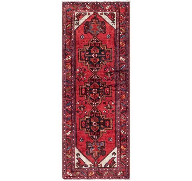 105cm x 292cm Khamseh Persian Runner ...