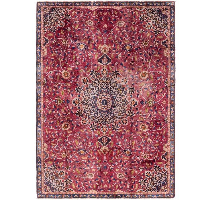 7' 2 x 10' 6 Kashmar Persian Rug