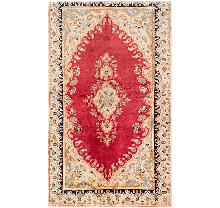 115cm x 193cm Kerman Persian Rug