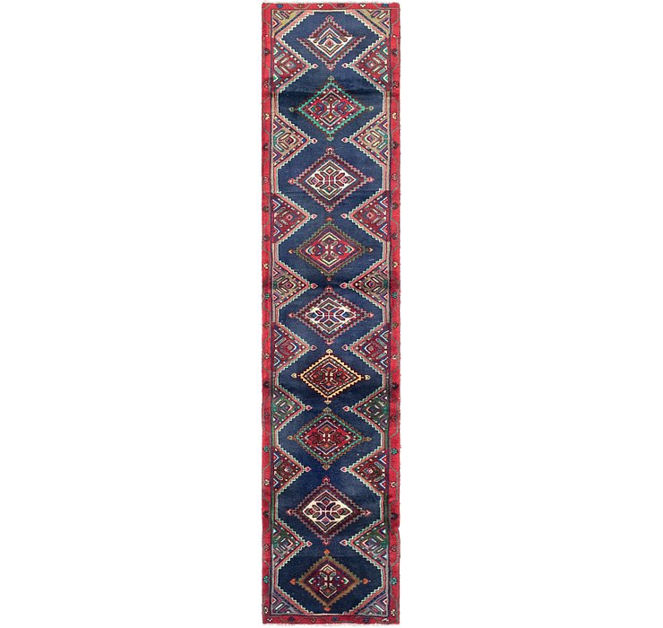 2' x 9' Chenar Persian Runner Rug