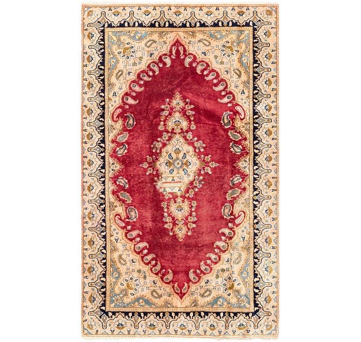 117cm x 198cm Kerman Persian Rug