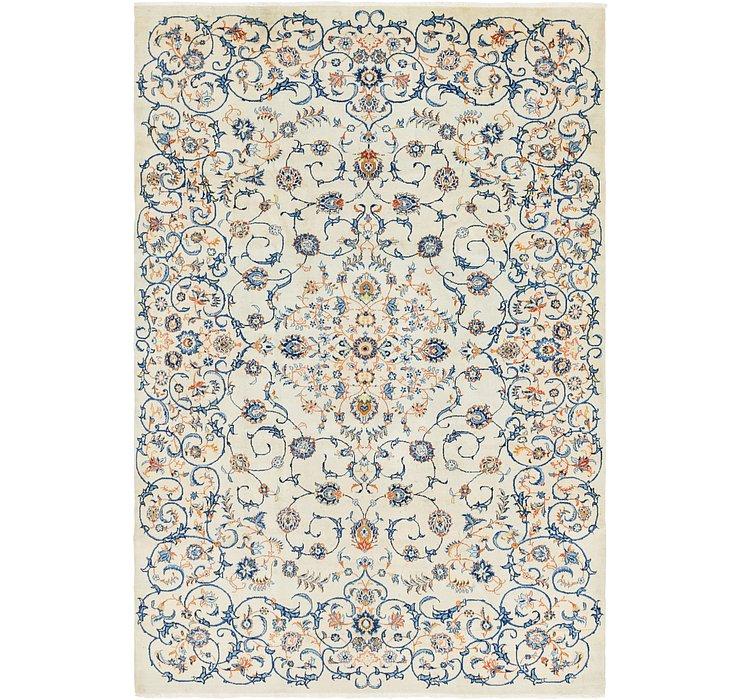 8' 3 x 12' 6 Kashan Persian Rug