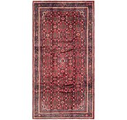 Link to 152cm x 290cm Hossainabad Persian Runner Rug