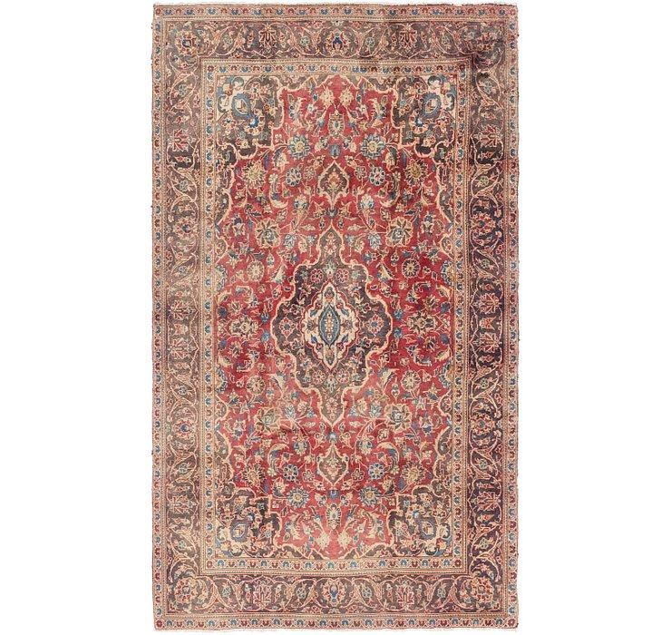 4' 10 x 8' 8 Mashad Persian Rug