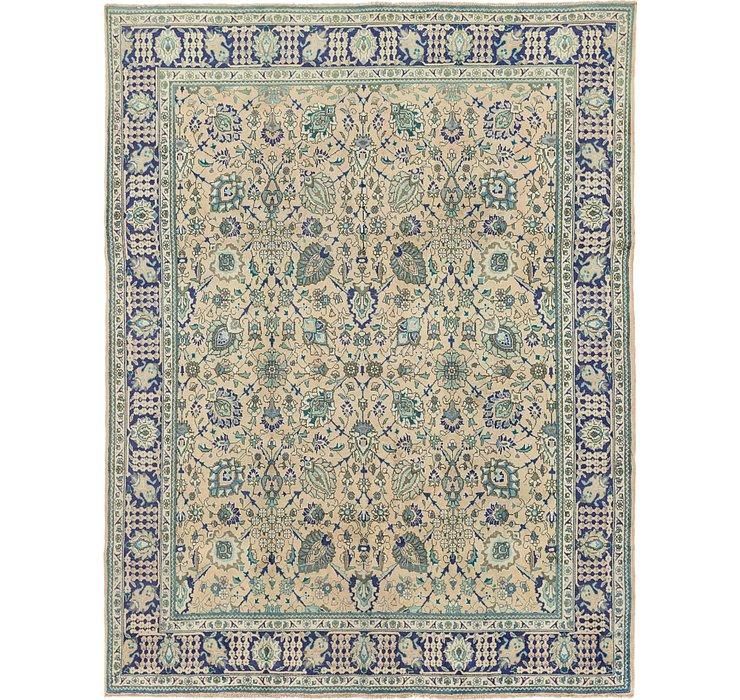 290cm x 385cm Tabriz Persian Rug