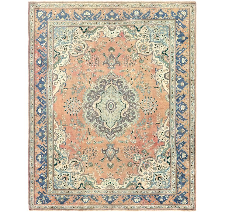 10' x 12' 4 Tabriz Persian Rug