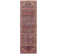 Link to 3' 8 x 13' 8 Hossainabad Persian Runner Rug